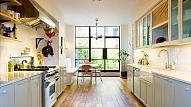 Virtuves grīda: koku vai flīzes?