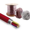 Красный Кабель для систем пожарной безопасности ElectroBase