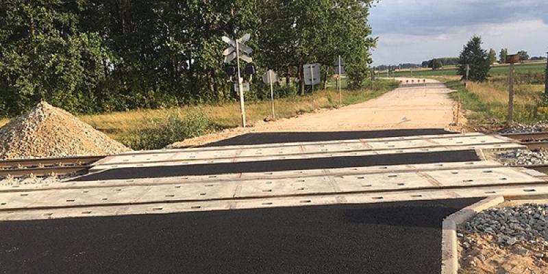 Asphalt concrete pavement restoration works
