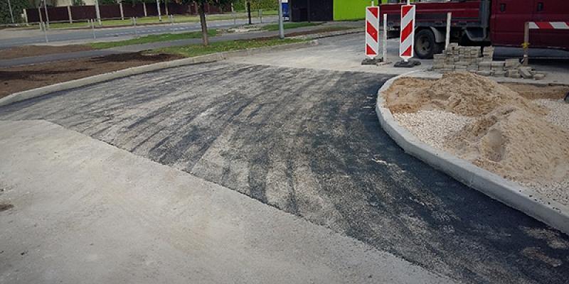 Road, street repair