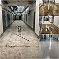 Bezšuvju polimēru pārklājumi betona grīdām