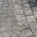 Cobblestone, paving slabs, curbs, decorative elements