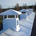 Kanādas kompānijas SECCO ventilācijas skursteņu tirdzniecība un montāža