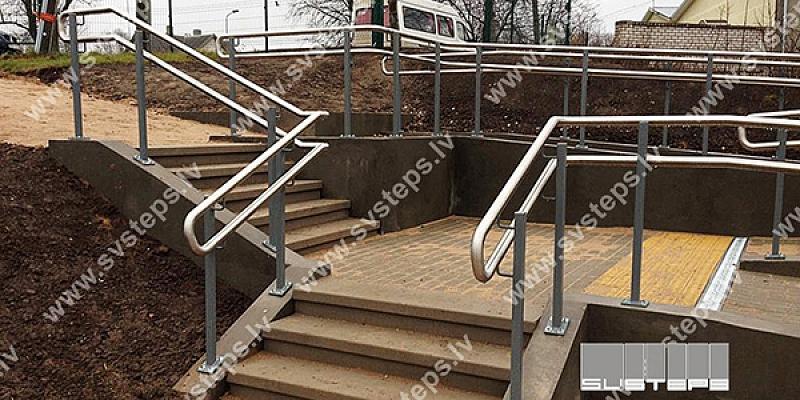 Kāpnes, pakāpieni