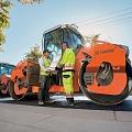HAMM piedāvā plašu visu veidu grunts un ceļu būvmašīnu paleti