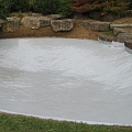 LDE Lining Pond after