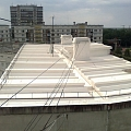 Roofs, waterproofing coating