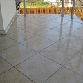 LDE Lining transparent waterproofing on tiles 2