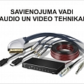 Savienojuma vadi audio un video tehnikai