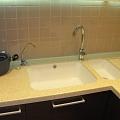 Stone sink for kitchen