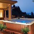 Sophisticated design hydromassage bath
