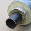 Промышленно-изолированные трубы, изолированные стальные трубы с двухслойной тепловой изоляцией
