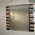 Spoguļu kompozīcija uz stikla pamata