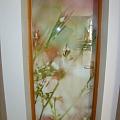 Stikla bīdāmās durvis ar fotoplēvi