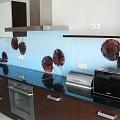 "Virtuves stikla panelis ar fotoplēvi ""Ķirši"""