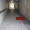 Natural linoleum, polyvinylchloride coatings, Rubber coverings