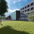 RTU Laboratory building, building design