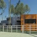 Private house in Bergi, private house design