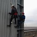 Высота мойки стеклянных конструкций