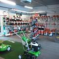 Garden equipment store in Valmiera