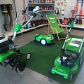 Viking equipment for lawn care