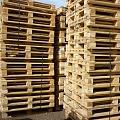Wooden pallets, Europallets