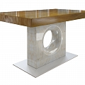Oak, balsam poplar, Canadian aspen, spruce, elm, red elm tables