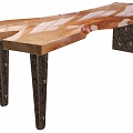 Solid wood tables, kitchen equipment