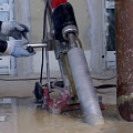 Sawing in reinforced concrete