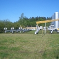 Gas supply, Gas regulation points