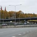 Транспортный узел перекрестка улиц Кришяня Валдемара и Даугавгривас, проектирование улиц, проектирование транспортных узлов