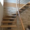 Joiner's works, Joinery, wooden stairs, Furniture production