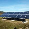 Brīvi stāvošas 5 kW saules bateriju sistēmas Ādažu novadā
