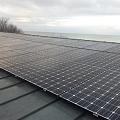 Saules bateriju tirdzniecība, uzstādīšana. Privatmāja Jūrmalā, jauda 11 kW