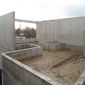 Monolith concreting
