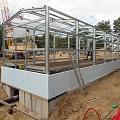 Building metal frames