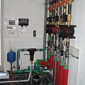 Establishment of heating distribution