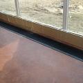 Installation of floor radiators