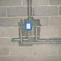 Installation of built-in water mixers