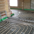 Warm floor mounting