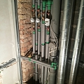 Installation of water and heat meters