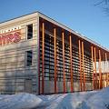 Sporta centrs ziemā