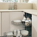 Izbīdāmie virtuves grozi