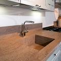Stone kitchen work surfaces
