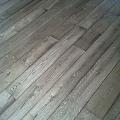 Solid wood floor restoration