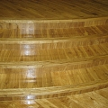 Non-standard floor laying, restoration