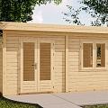 Koka māju ražošana