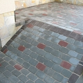 Non-standard paving works