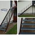 Metinātava avārijas kāpnes Sigulda