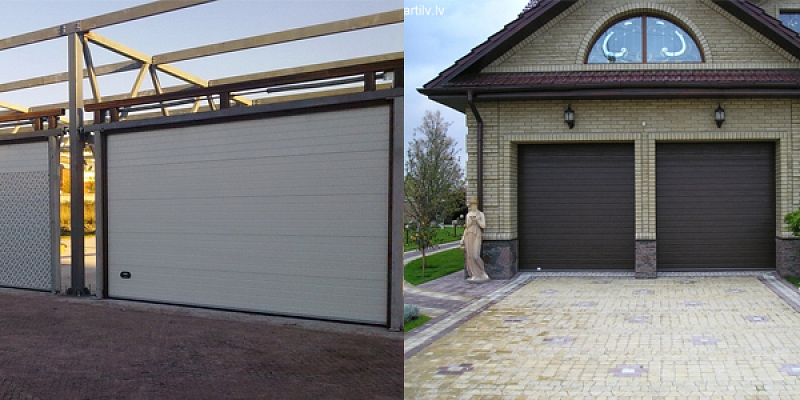 Industrial gates and garage gates
